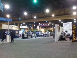Attendees to the NAA MediaXchange conference seem to be flocking to panel discussions instead of the exhibit floor.